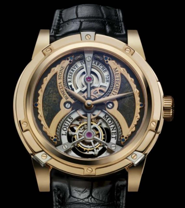 Louis-Moinet-Meterois-Rosetta- Top 10 Most Expensive Watches for Men in the World