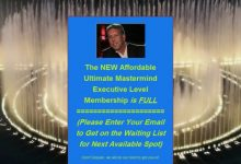 Photo of Ultimate Mastermind Executive Level for Achieving Massive Success & Maximizing Profits
