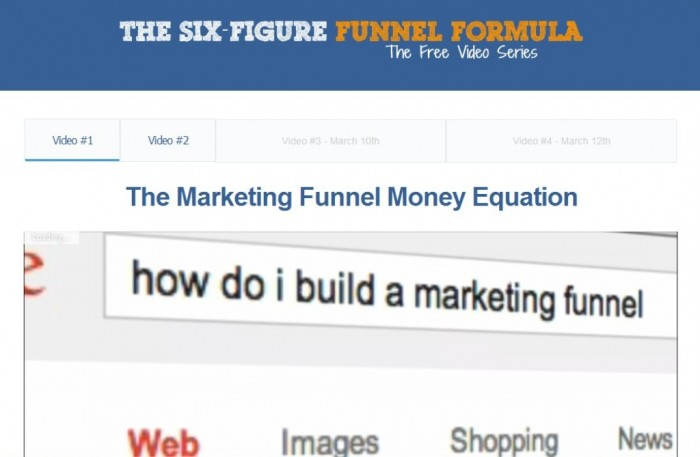 New-Picture Exclusive: Set-up a $100,000 a Year Marketing Funnel Through the Six-Figure Funnel Formula