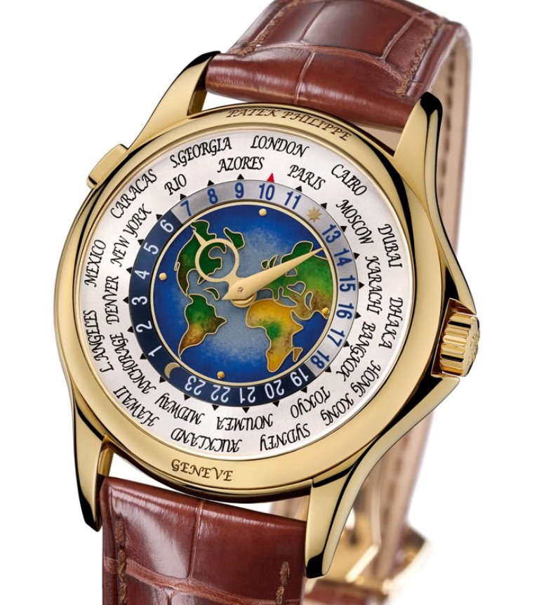 Patek-Philippe-1939-Platinum-World-Time-Watch Top 10 Most Expensive Watches for Men in the World