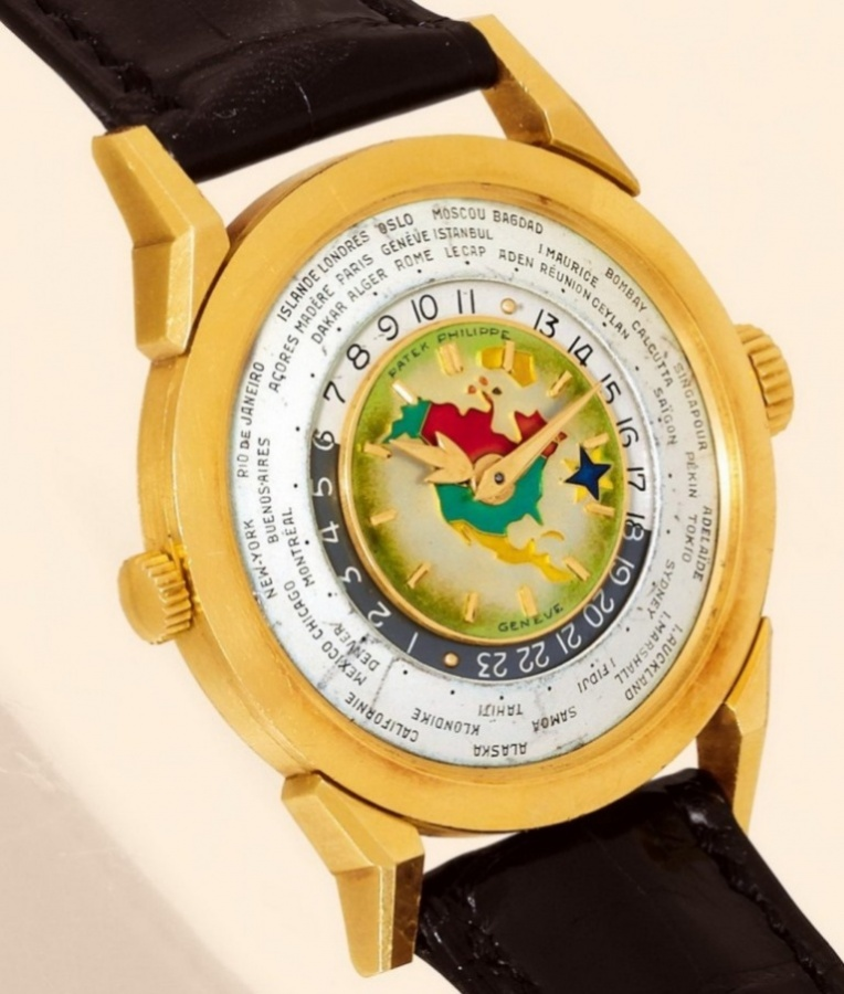 Patek-Philippe-1953-Model-2523-Heures-Universelles-Watch Top 10 Most Expensive Watches for Men in the World