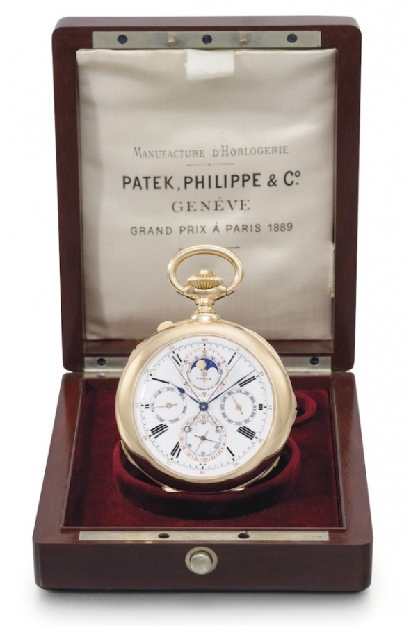 Patek-Philippe-Henry-Graves-Super-Complication-Pocket-Watch-Patek-Philippe-Rare-Stephen-Palmer-First-Ever-Patek-Grand-Complication-Pocket-Watch-3 Top 10 Most Expensive Watches for Men in the World