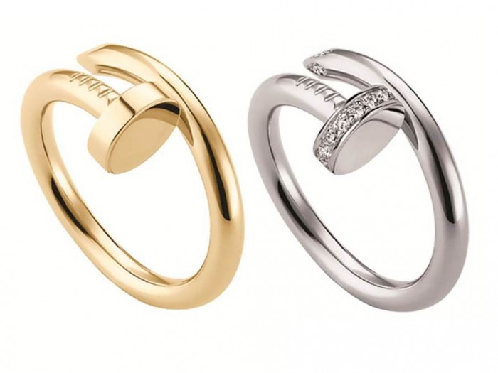 cartier-rings 2019 Trends: Top 10 Luxury Jewelry Brands in the World