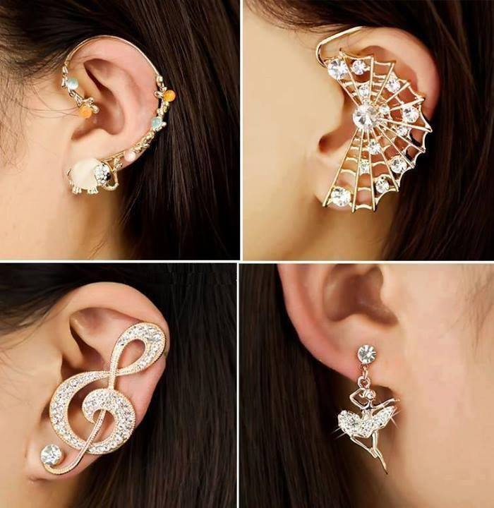 earrings-for-valentines-day-special-1 2017 Fashionable Designs Of Earrings For Women And Teenage Girls