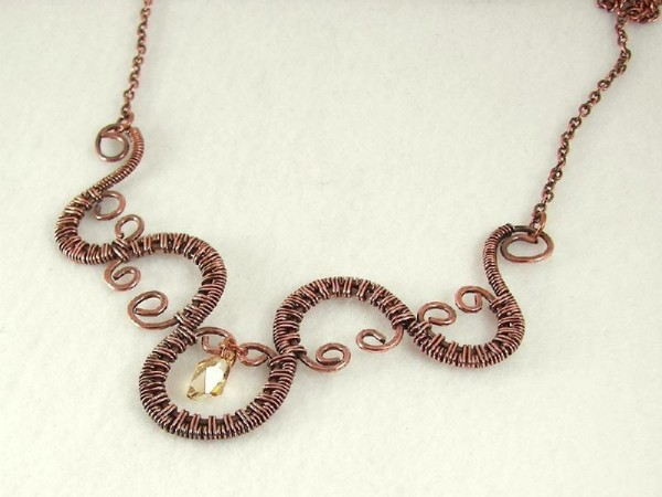 full_65_6114_WireWovenNeckace_1 Make Special Gifts For Your Friends with Wire Jewelry