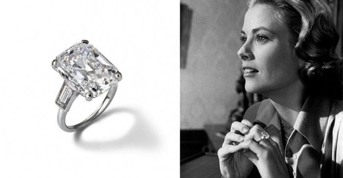 grace kelly s engagement ring million