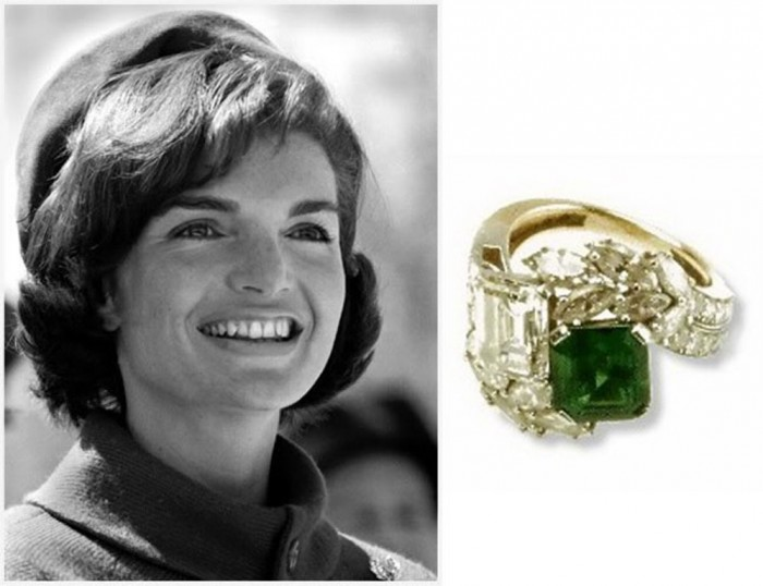 jackie-kennedy-engagement-ring Top 10 Most Expensive Women's Wedding Rings