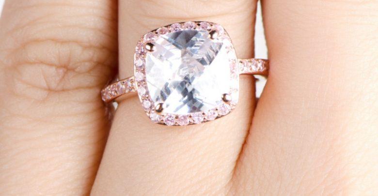 Photo of 30 Elegant Design Of Engagement Rings In Rose Gold