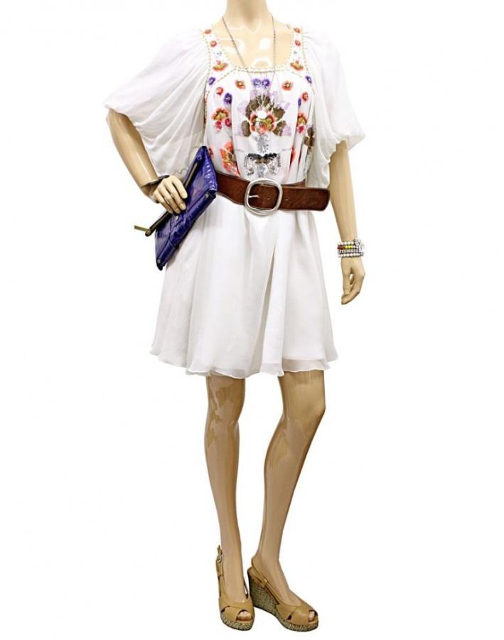 matthew-williamson-white-silk-beaded-dress Top 10 Fabulous & Stunning Fashion Trends for 2019