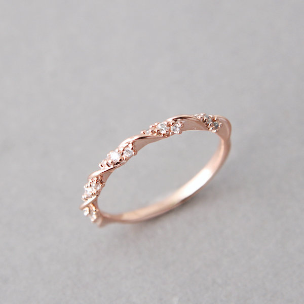 original5 30 Elegant Design Of Engagement Rings In Rose Gold