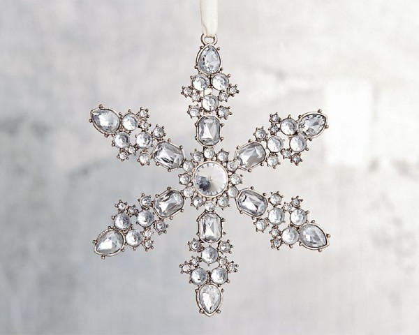 pottery-barn-jewel-snowflake-ornament 15+ Unique And Elegant Designs Of Christmas Jewels