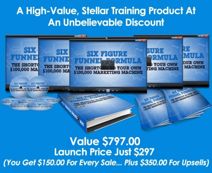 product2 Exclusive: Set-up a $100,000 a Year Marketing Funnel Through the Six-Figure Funnel Formula