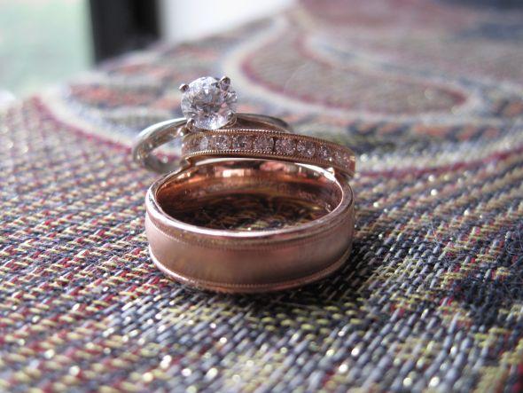 rings1 30 Elegant Design Of Engagement Rings In Rose Gold