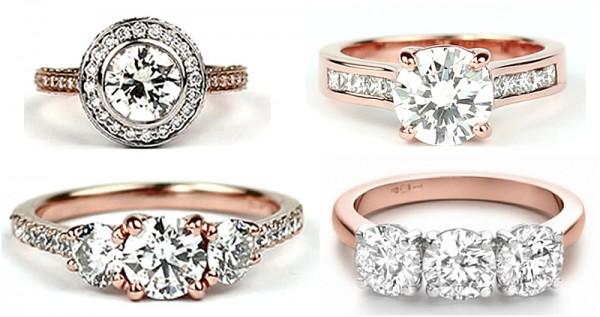 rose-gold-engagement-rings 30 Elegant Design Of Engagement Rings In Rose Gold