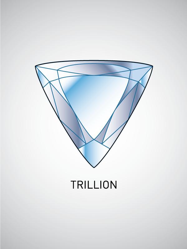 trillion_cut 4 Cs To Value Your Diamonds And Gemstones