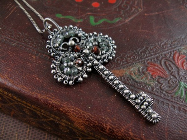 wire-work-key-pendant Make Special Gifts For Your Friends with Wire Jewelry