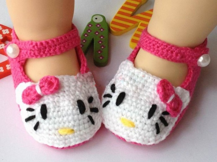 1-104 20 Awesome & Fabulous Collection of Crochet Slippers for Newborn Babies