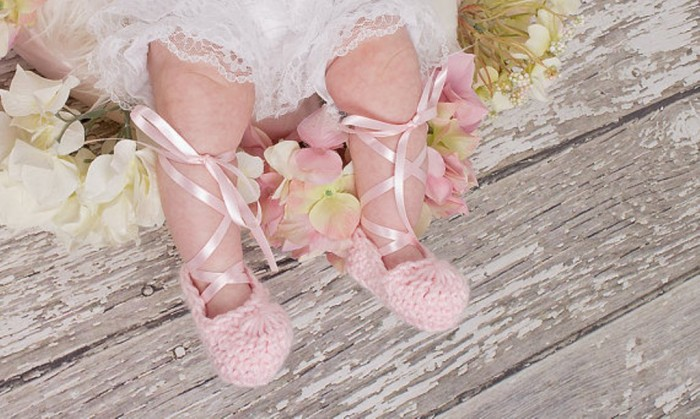 1-117 20 Awesome & Fabulous Collection of Crochet Slippers for Newborn Babies