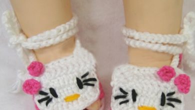 Photo of 20 Awesome & Fabulous Collection of Crochet Slippers for Newborn Babies