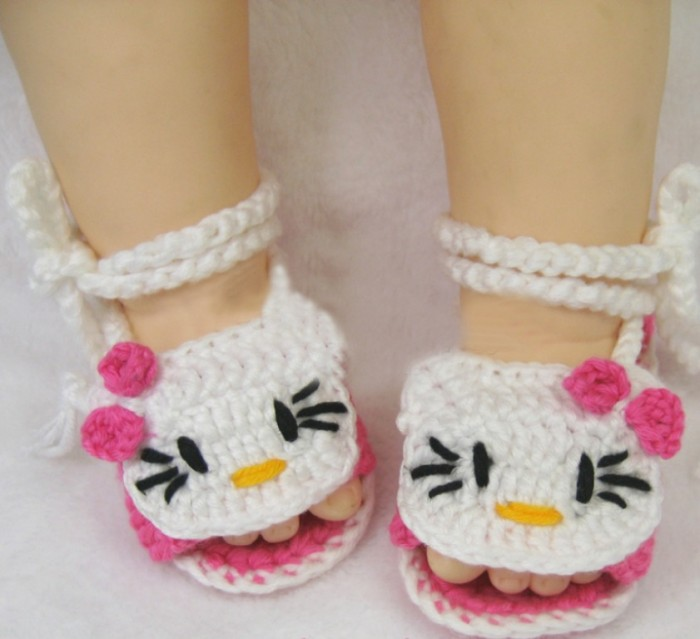 1-118 20 Awesome & Fabulous Collection of Crochet Slippers for Newborn Babies