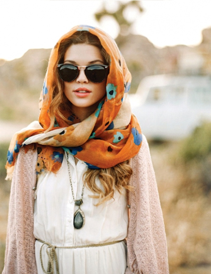 1-126 Top 10 Fashion summer scarves trends for 2019