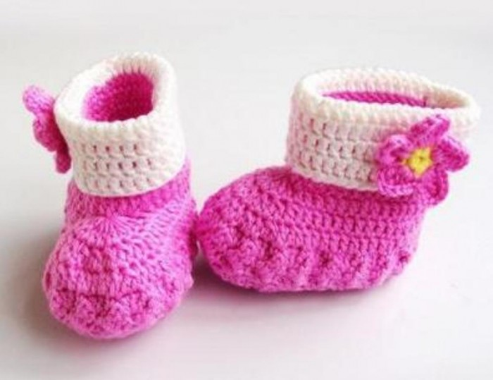 1-134 20 Awesome & Fabulous Collection of Crochet Slippers for Newborn Babies