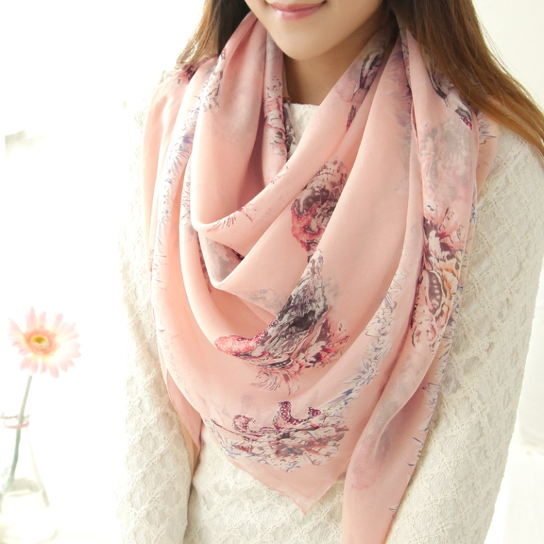 1-136 Top 10 Fashion summer scarves trends for 2019