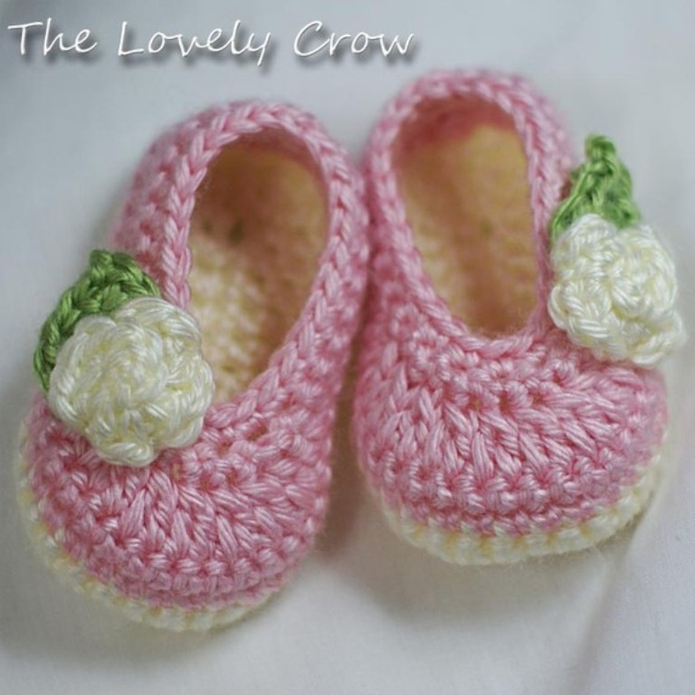 1-144 20 Awesome & Fabulous Collection of Crochet Slippers for Newborn Babies