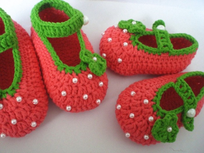 1-154 20 Awesome & Fabulous Collection of Crochet Slippers for Newborn Babies