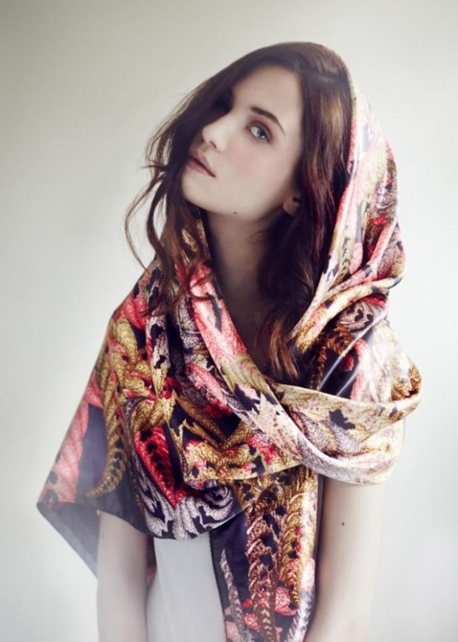 1-156 Top 10 Fashion summer scarves trends for 2019