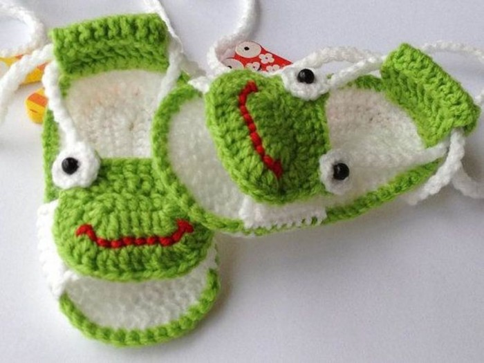 1-174 20 Awesome & Fabulous Collection of Crochet Slippers for Newborn Babies