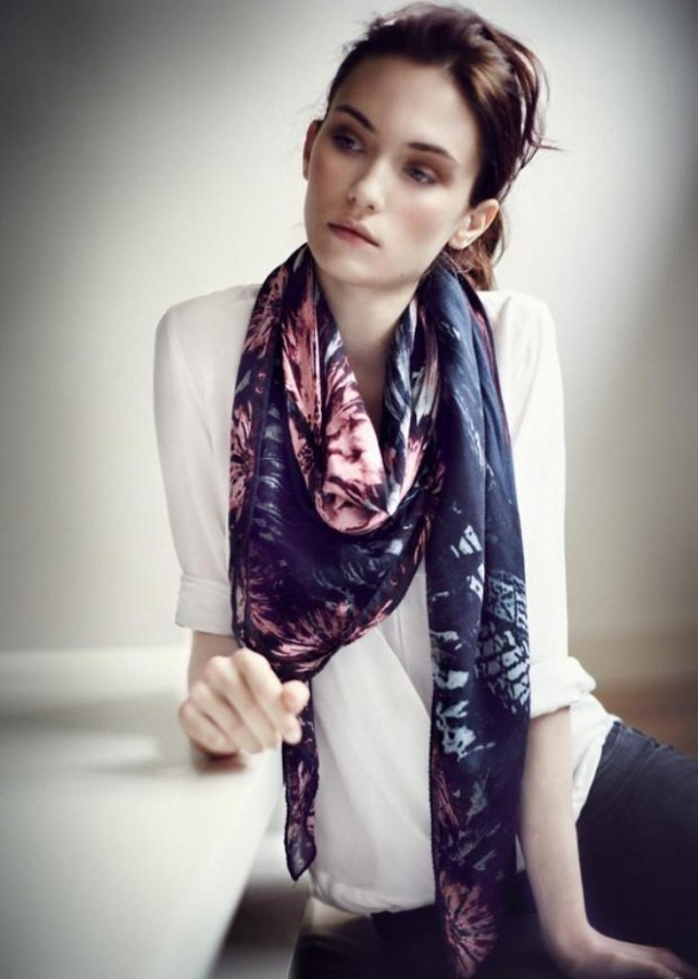 1-187 Top 10 Fashion summer scarves trends for 2019