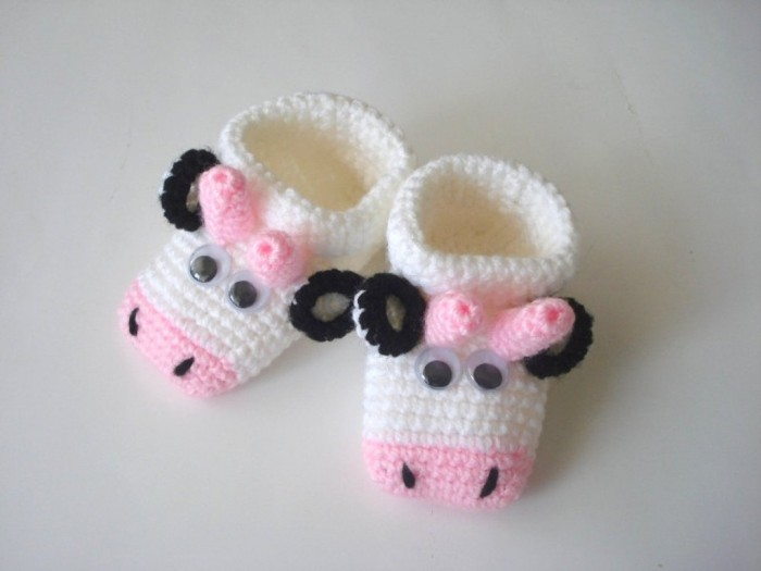 1-25 20 Awesome & Fabulous Collection of Crochet Slippers for Newborn Babies