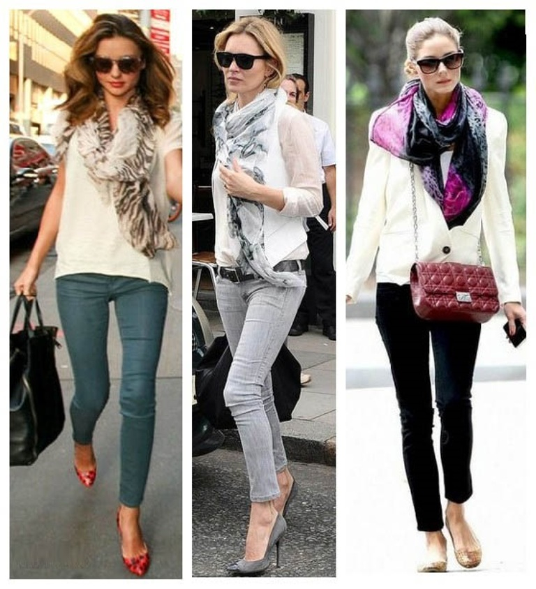 1-27 Top 10 Fashion summer scarves trends for 2019