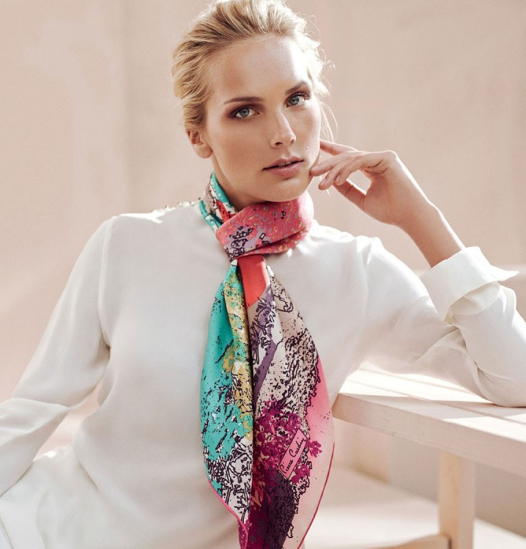 1-37 Top 10 Fashion summer scarves trends for 2019