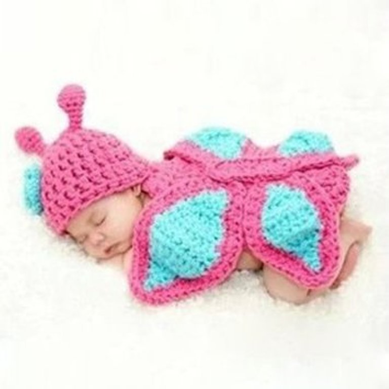 1-44 25 Breathtaking & Stunning Collection of Crochet Clothes for Newborn Babies