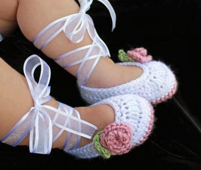 1-45 20 Awesome & Fabulous Collection of Crochet Slippers for Newborn Babies
