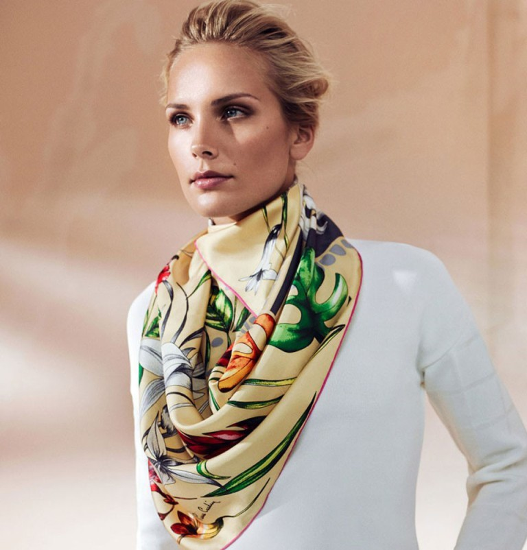 1-47 Top 10 Fashion summer scarves trends for 2019
