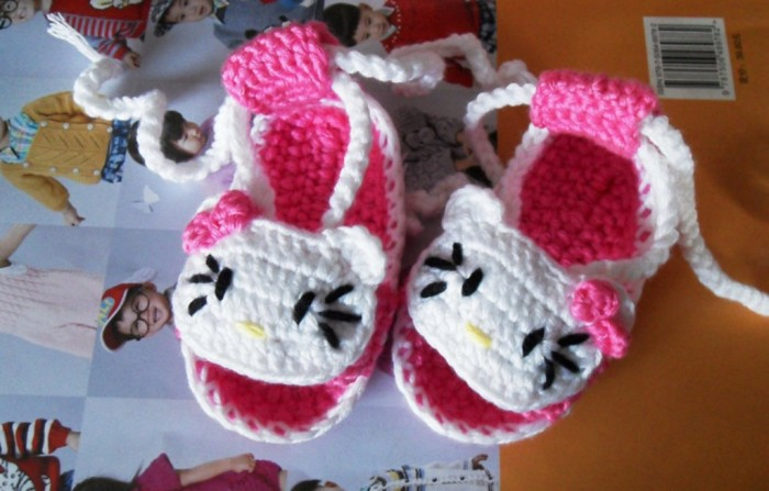 1-55 20 Awesome & Fabulous Collection of Crochet Slippers for Newborn Babies