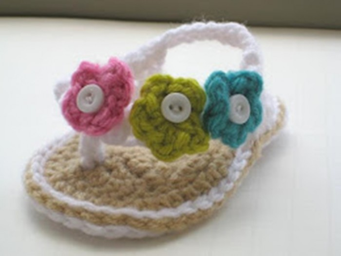 1-75 20 Awesome & Fabulous Collection of Crochet Slippers for Newborn Babies