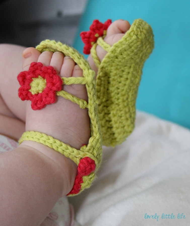 1-85 20 Awesome & Fabulous Collection of Crochet Slippers for Newborn Babies