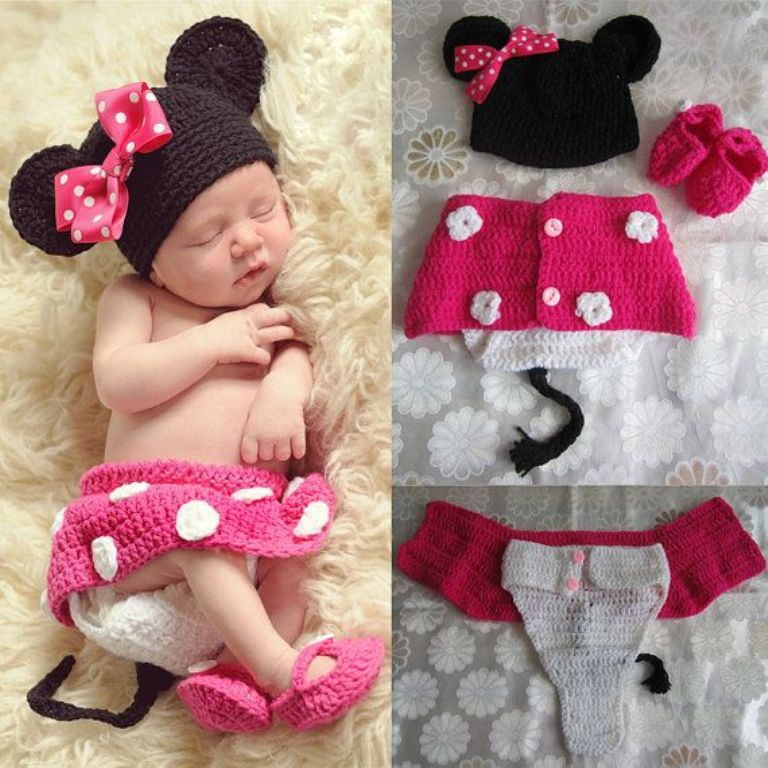 Free Crochet Pattern For Baby Minnie Mouse Outfit : mickey mouse crochet outfit MEMEs