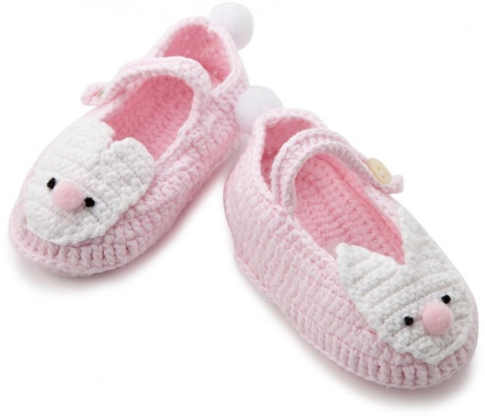 17 20 Awesome & Fabulous Collection of Crochet Slippers for Newborn Babies