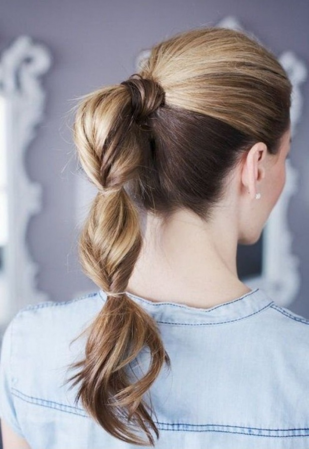 2014-Cute-Ponytail-Hairstyles-Twisted-Ponytail-Hair-Style 25+ Hottest Women's Hairstyle trends Coming Back in 2019