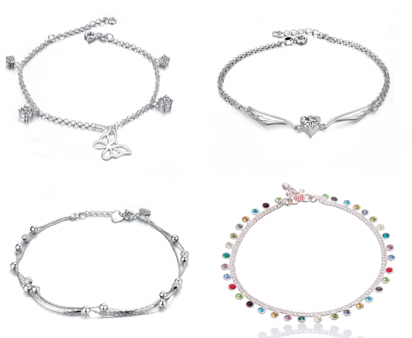 24 Top 89 Anklets Jewelry Pieces Around The World in 2017