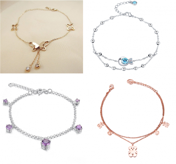 31 89+ Best Anklets Jewelry Pieces in 2018