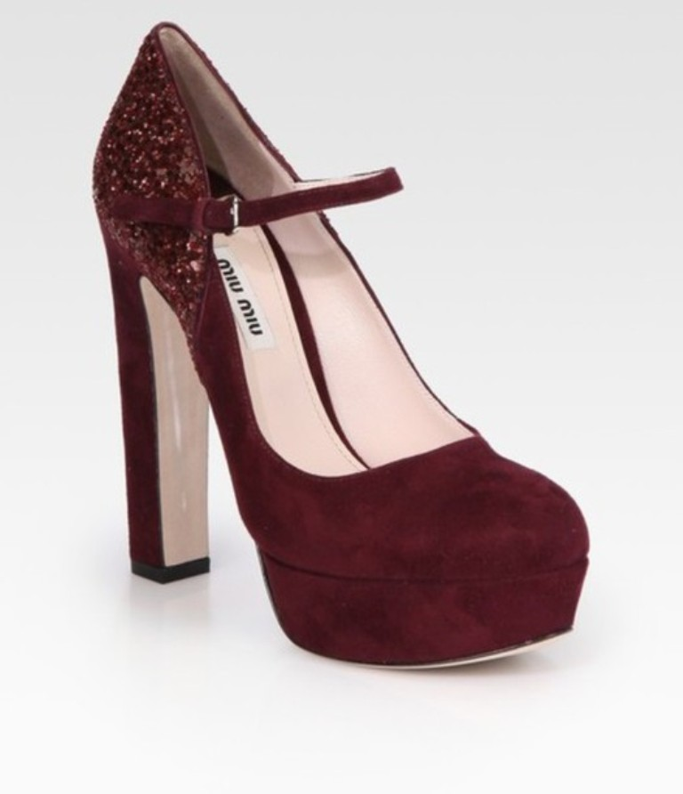 39dvrj-l-610x610-shoes-burgundy-heels-pumps-suede-mary-janes 2017 Shoe Trend Forecast for Fall & Winter