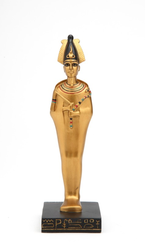 8554 39 Most Famous Pharaohs Gold Statues