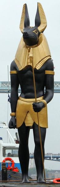 Anubis 39 Most Famous Pharaohs Gold Statues