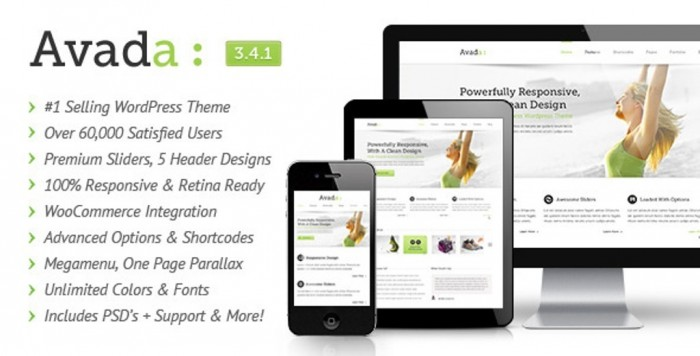 Avada-Responsive-Multi-Purpose-Theme Top 10 ThemeForest WordPress Themes